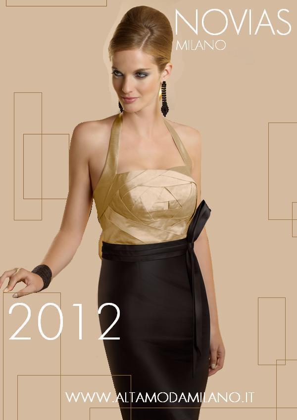 39291452f845 Abiti da cerimonia milano NOVIAS donna moderna elegante e sensuale 2012