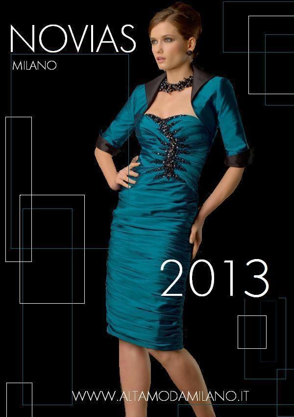 Vestiti Eleganti Vicenza.Abiti Da Sera 2013 2014 Alta Moda Sposa Sposo Milano Novias